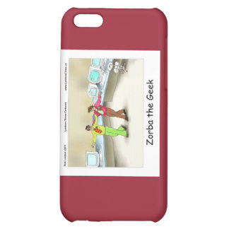 Zorba The Geek Funny Cover For iPhone 5C