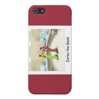 Zorba The Geek Funny Cover For iPhone SE/5/5s