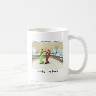 Zorba The Geek Funny Gifts Tees Mugs & Cards Coffee Mug