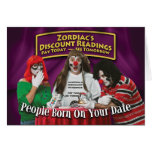 Zordia's Discount Birthday Readings Greeting Card