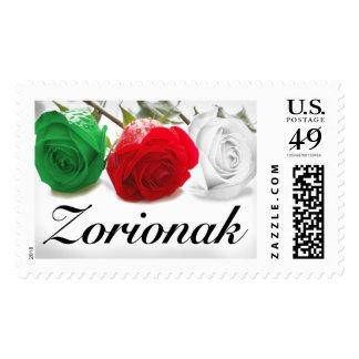 """Zorionak"" Postage"
