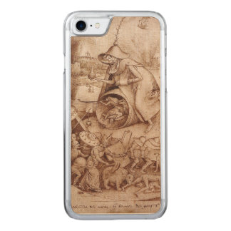 Zorn (Anger) by Pieter Bruegel the Elder Carved iPhone 7 Case