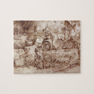 Zorn (Anger) by Pieter Bruegel the Elder Jigsaw Puzzle