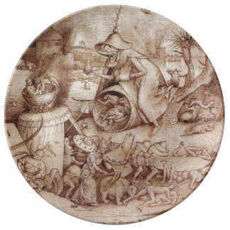 Zorn (Anger) by Pieter Bruegel the Elder Plate