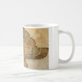 Zoroastrian Faravahar Symbol Coffee Mug