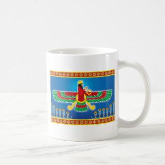 Zoroastrian Persian Faravahar Coffee Mug