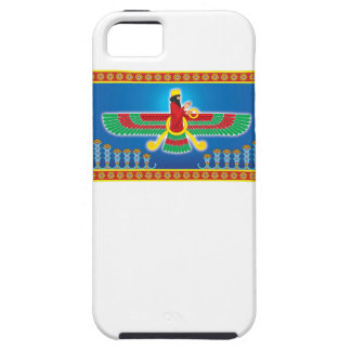 Zoroastrian Persian Faravahar iPhone SE/5/5s Case