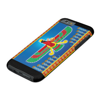 Zoroastrian Persian Faravahar Tough iPhone 6 Case