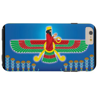 Zoroastrian Persian Faravahar Tough iPhone 6 Plus Case