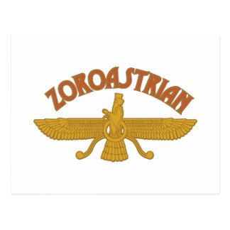 Zoroastrian Postcard