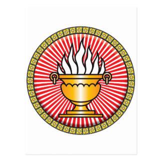 Zoroastrianism Icon Postcard
