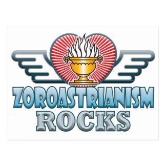 Zoroastrianism Rocks Postcard