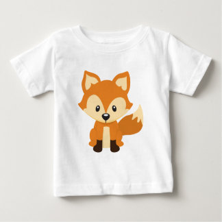 Zorro astuto t-shirts