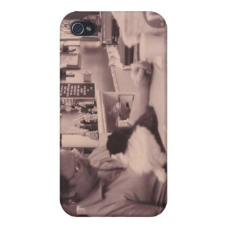 Zorro at Work iPhone 4/4S Cases