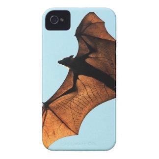 Zorro de vuelo espeluznante de Halloween (palo de  Case-Mate iPhone 4 Cobertura