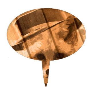 zorro en un gorra figuras para tartas