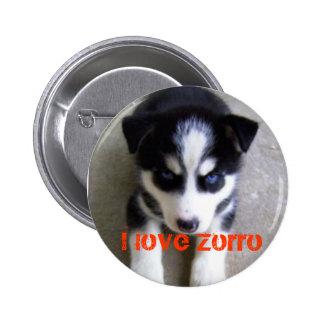 zorro, I love Zorro Button