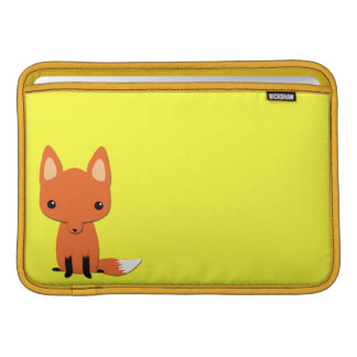 Zorro lindo simple fundas MacBook