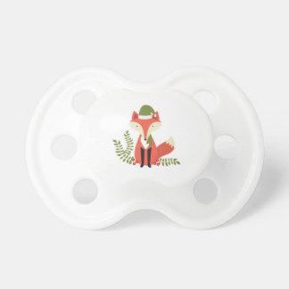 zorro moderno del navidad del arbolado de las chupete de bebé