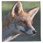 zorro rojo servilleta