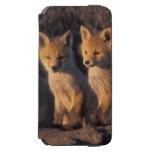 zorro rojo, vulpes del Vulpes, equipos fuera de su Funda Cartera Para iPhone 6 Watson