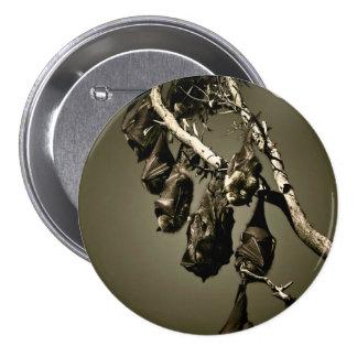 Zorros de vuelo pin redondo 7 cm