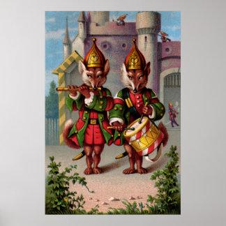 Zorros del Fife y del tambor Póster