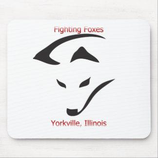 Zorros que luchan de Yorkville Tapete De Raton