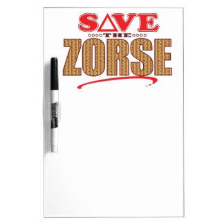 Zorse Save Dry-Erase Board