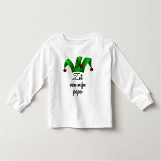 Zot van mijn papa toddler t-shirt