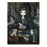 Zoti Nature Awen Sage Fairy Balance Fae Postcard
