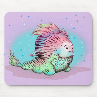 ZOU CUTE ALIEN MONSTER CARTOON MOUSE PAD