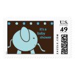 Zou-e the Baby Elephant Stamp