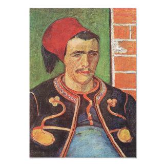 Zouave half figure by Vincent van Gogh Card
