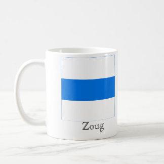 Zoug, banderas de Suisse Drapeau Tazas