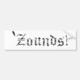 Zounds Bumper Sticker