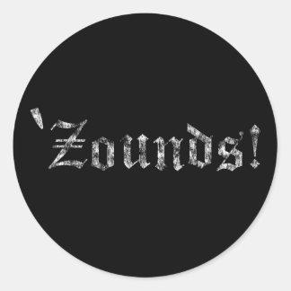 Zounds Classic Round Sticker