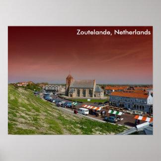 Zoutelande, Netherlands Poster