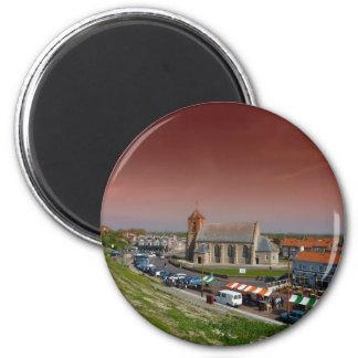 Zoutelande, Países Bajos Imán Redondo 5 Cm