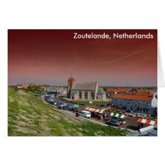 Zoutelande, Países Bajos Tarjeta De Felicitación