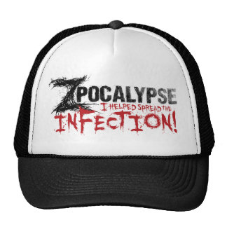 Zpocalypse: I helped start the infection! hat