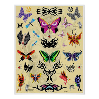 Zposter TG1butterfly Print