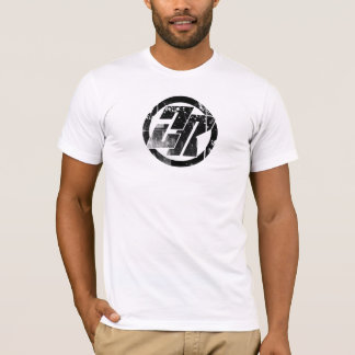 ZR Circ du White Distressed T-Shirt