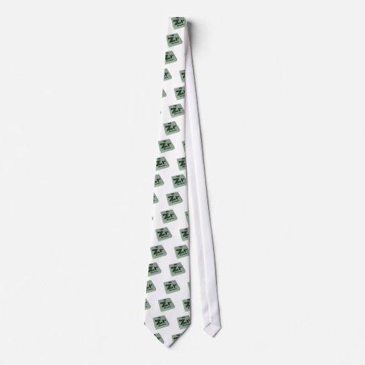 Zr Zirconium Tie