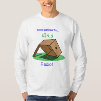 """ZS """"It's A Trap!"""" Radio Dude's Long Sleeve T-Shirt"""