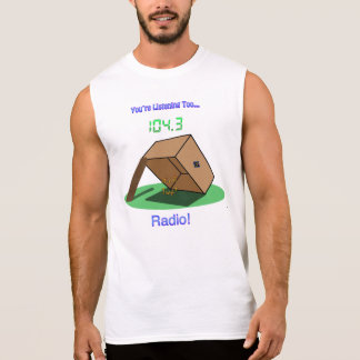 "ZS ""It's A Trap!"" Radio Dude's Sleeveless T-Shirt"