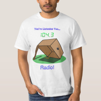 """ZS """"It's A Trap!"""" Radio Dude's T-Shirt"""