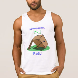 "ZS ""It's A Trap!"" Radio Dude's Tank Top"