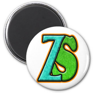 ZS - Zombie Squash TM 2 Inch Round Magnet