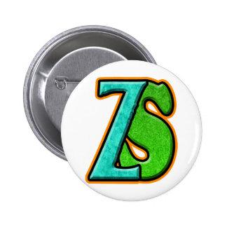 ZS - Zombie Squash TM Pinback Buttons